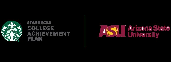 Starbucks ASU partnership logo